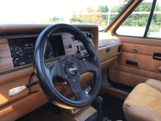 1981 VW Rabbit Pickup truck Caddy custom 1 8t swap GTI Audi