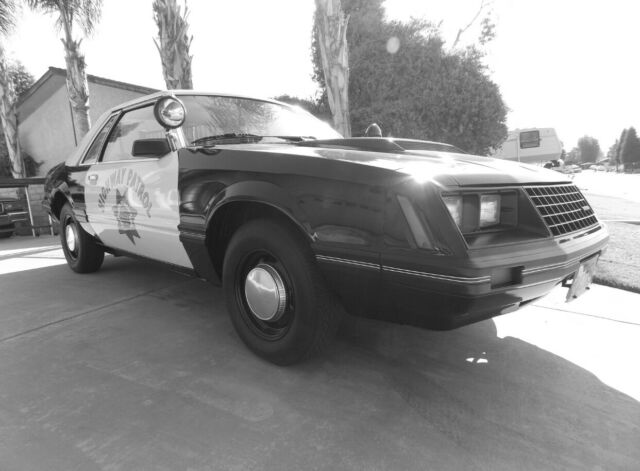 1982 Ford Mustang California Highway Patrol SSP - Classic