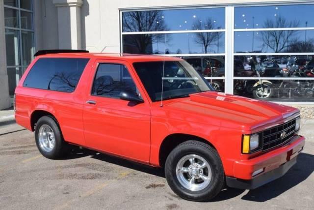 1983 Chevrolet S-10 Blazer S10 350 V8 A/C 700r4 Trans Mini Tub 9