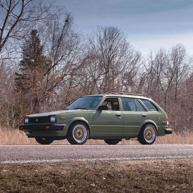 1983 Honda Civic Wagon LS B18 Swap 1.5L I4 12V Manual