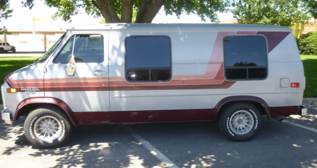 1983 vintage chevrolet G20 van by STAR CONVERSION CO!!! RARE