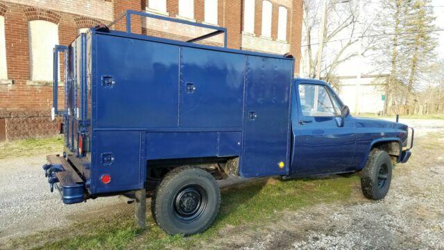 1984 Chevrolet Military/Ex-Police M1008 4x4 Diesel V8 Aluminum Box 1