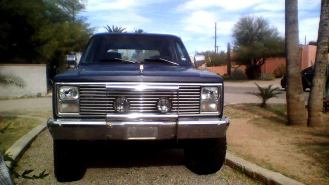 1984 Chevy K5 Blazer Custom Deluxe 62l Turbo Diesel Classic 1984