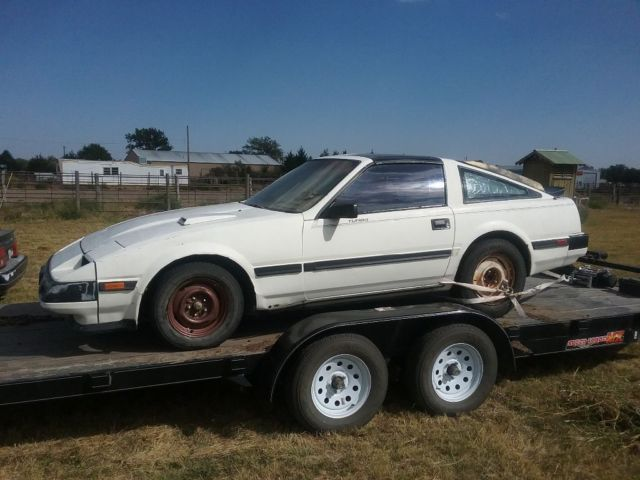 1984 datsun 300zx turbo with t tops virgin bill of sale NO