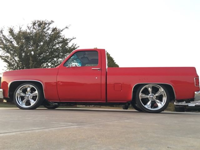1985 Chevrolet C10 Custom Restomod Lowered Dropped Chevy Show Truck
