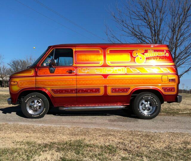 1985 Chevy shorty van cargo panel custom vintage good times