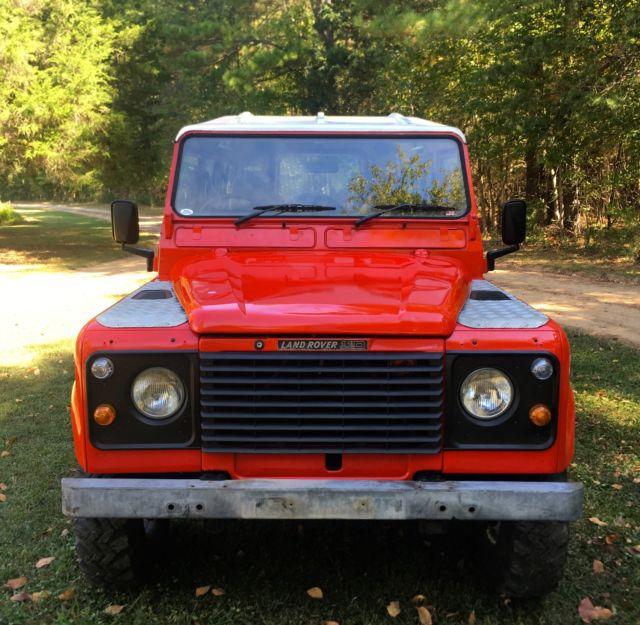 Land Rover Defender For Sale Nc: 1985 LAND ROVER DEFENDER 110