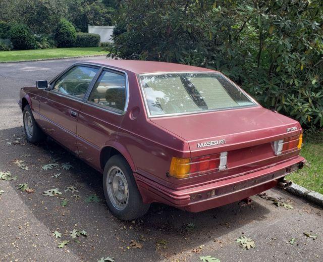 1985 Maserati Biturbo E II 2.5 V6 AM 453 Parts or Project Car - Classic 1985 Maserati Biturbo
