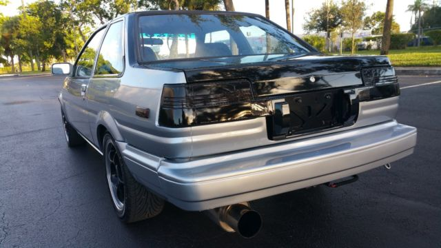1985 Toyota corolla gts ae86 1jzgte single turbo 5speed
