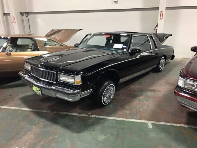 1986 Chevrolet Caprice Classic Coupe 2-Door 5 0L - Classic