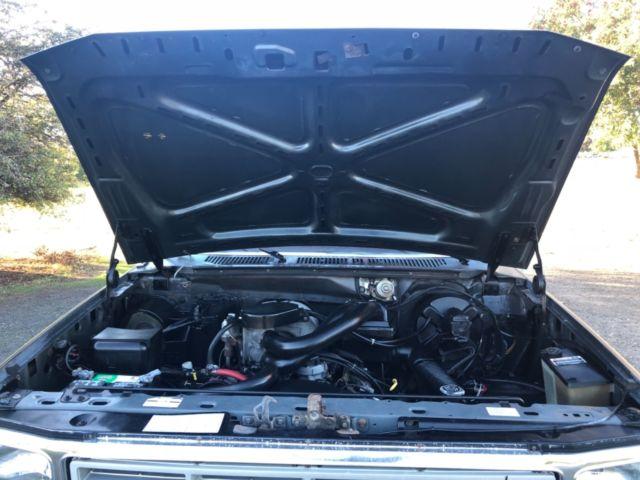1986 Ford F-150 4x4 Short Box Stepside 302 V8 Efi Automatic 97k Mile No Reserve