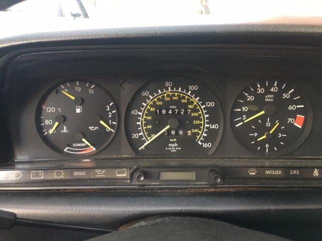 1986 Mercedes Benz 190E 2 3-16V Cosworth Engine 5 Speed