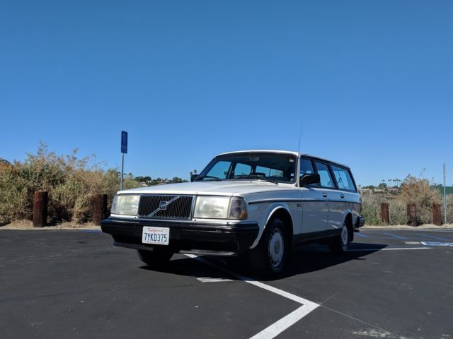 1986 Volvo 240 DL Wagon - NO RESERVE AUCTION - Classic 1986