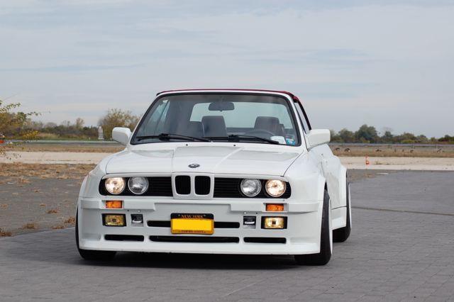 1987 BMW 325i Convertible Custom Folger Wide Body E30 Widebody ...