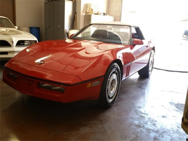 1987 chevrolet corvette convertible 1 owner 45k mi 4 3 manual rh mfpclassiccars com 1978 Corvette 1986 Corvette