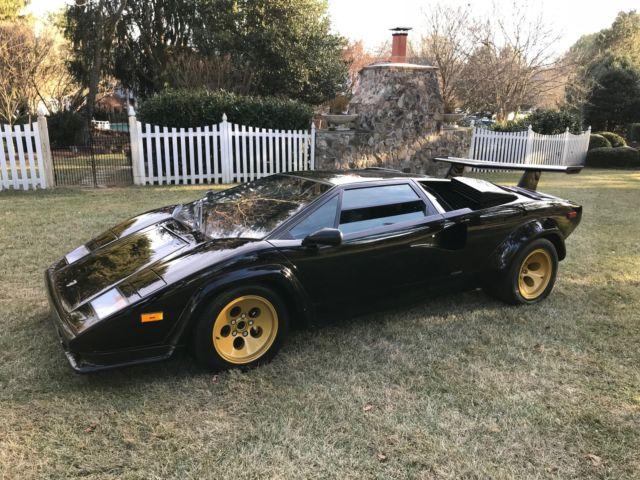 1987 Lamborghini Countach 5000 Quattrovalve Classic 1987