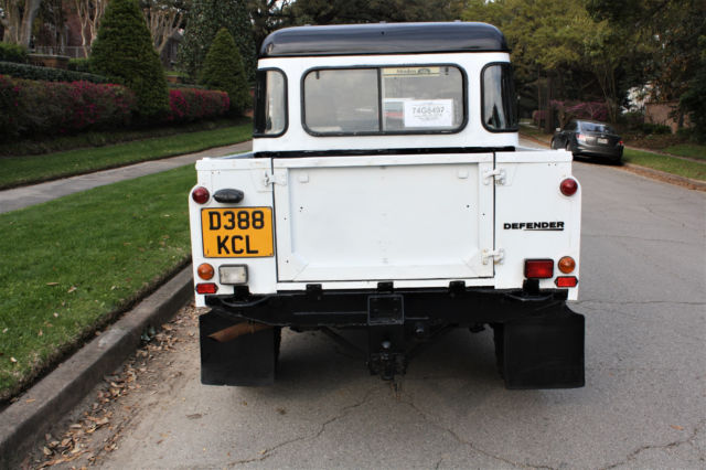 PrevNext & 1987 Land Rover Defender 110 CrewCab 300Tdi TURBO DIESEL WOLF DOORS ...
