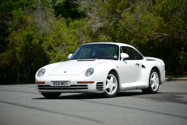 Porsche 959 For Sale >> 1987 Porsche 959 Komfort Coupe 6 Speed Manual Vin