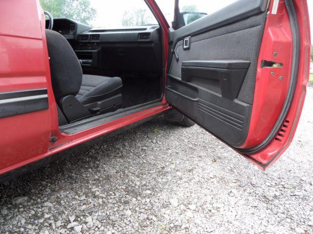 1987 Toyota Corolla FX16 Hatchback 4A-GE AE82 AE86 *Rust