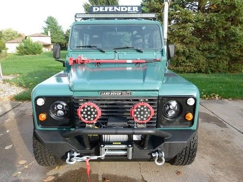 1988 Land Rover Defender 90 Hardtop 2 5TD Located in USA
