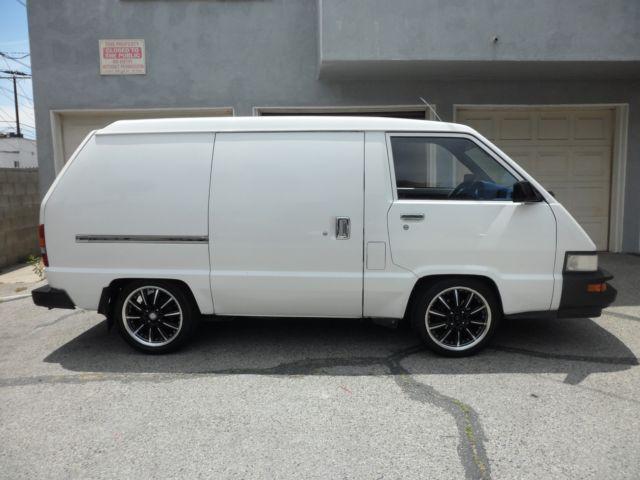 1988 Toyota Cargo Van Rare
