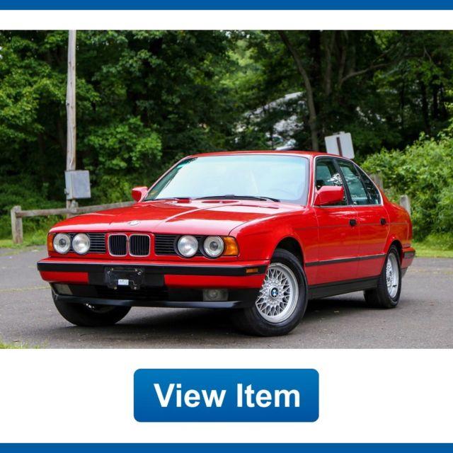 1988 Bmw 535i For Sale: 1989 BMW 535i L6 5 Speed Manual Rare California Car E34
