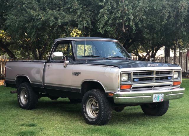 1989 Dodge W150 Power Ram Le