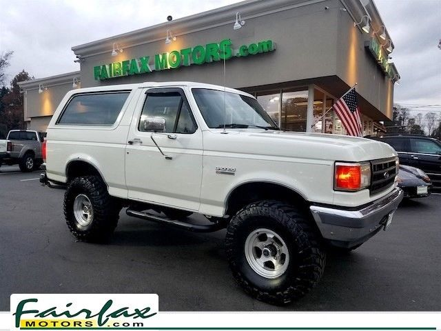 1989 ford bronco ford bronco xlt lifted 180 341 miles white suv 5 0l v8 classic 1989 ford. Black Bedroom Furniture Sets. Home Design Ideas