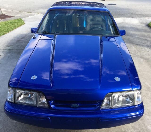1989 FORD MUSTANG FOXBODY NOTCHBODY COUPE STREET/RACE CAR