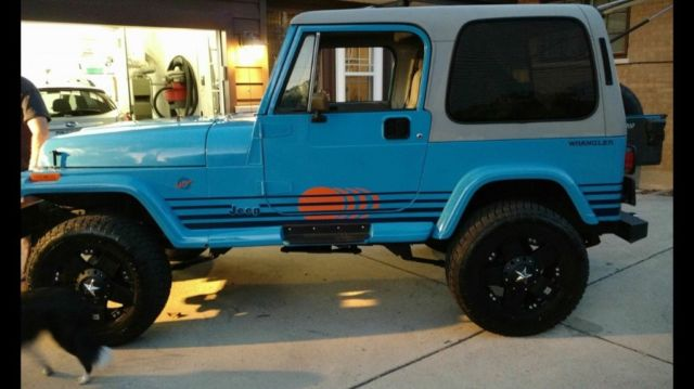 Jeep 4 Inch Lift >> 1989 JEEP WRANGLER ISLANDER EDITION - Classic 1989 Jeep Wrangler for sale