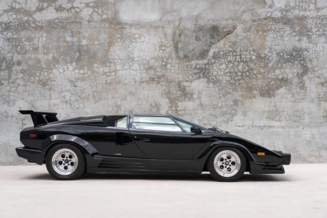 1989 Lamborghini Countach 25th Anniversary Nero Tenebre 5 350