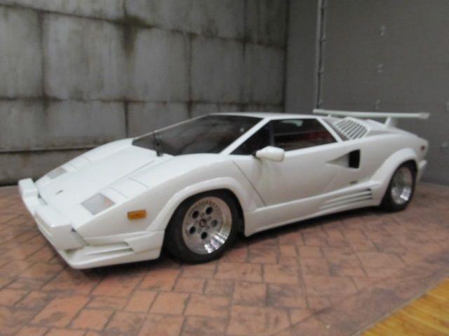 1989 Lamborghini Countach LP 112 25th Anniversary Ser 1300 Miles ...