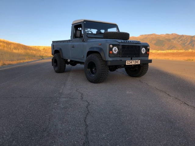 1989 land rover defender 110 truck no reserve classic 1989 land