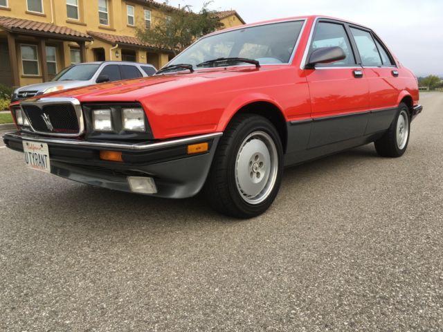 1989 Maserati 430 Biturbo 20k Miles Major Service Just ...