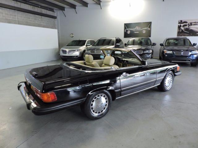 1989 Mercedes Benz 560sl W107 R107 Free Shipping Black 2