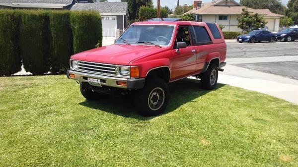 1989 Toyota 4Runner SR5 4Wheel Manual Transmission