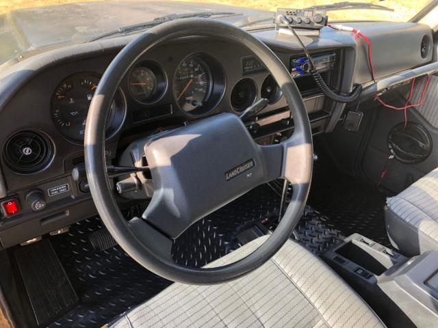 1989 Toyota Landcruiser FJ62 186K ORIGINAL NO RESERVE 3F Automatic