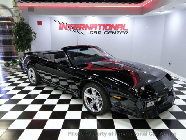 1990 Chevy Camaro Z28 IROC Z Convertible 1 Of 1,294 Only 54k