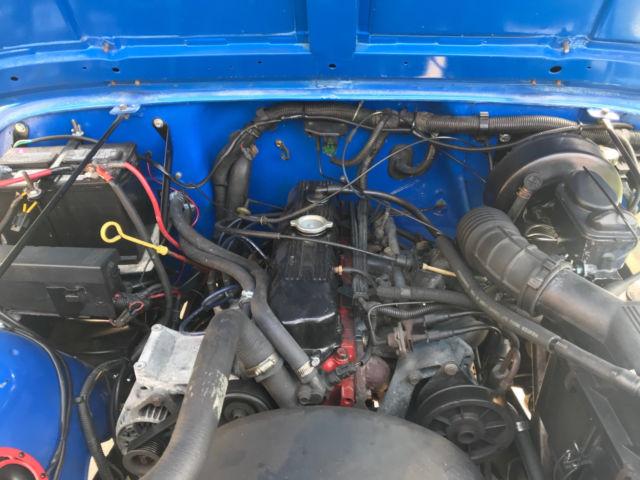 1990 jeep wrangler yj - blue  prevnext