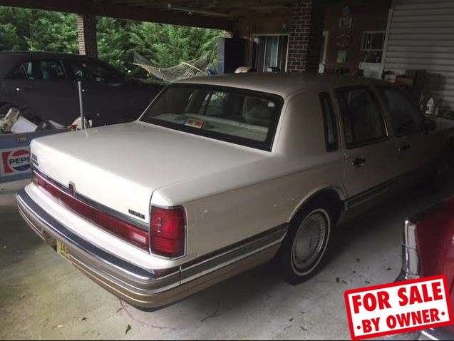 1990 Lincoln Town Car Signature 5l V8 Automatic Rwd Sunroof Leather