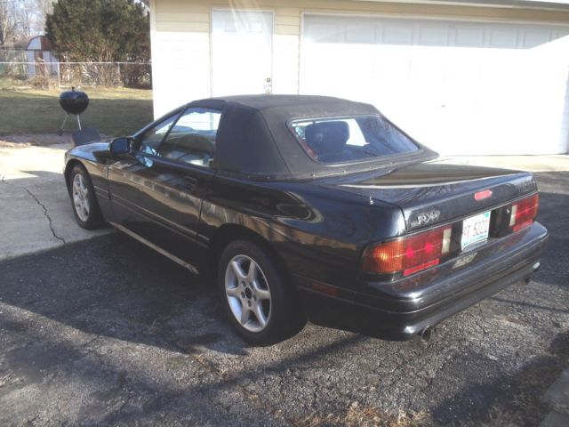 1990 Mazda RX7 FC Convertible Rear Wheel Drive 5 Speed