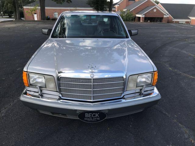 1990 Mercedes 420 Sel Excellent Classic 1990 Mercedes Benz 400