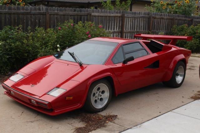 1990 Prova Lamborghini Countach Replica Classic 1990 Lamborghini