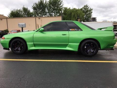 1990 R32 GTR Dragon Green NEW TURBOS, CLUTCH, OIL/FUEL PUMPS