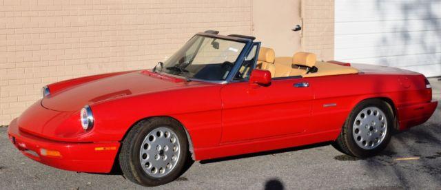 Alfa Romeo Spider Veloce Pininfarina Convertible WAutomatic - 1991 alfa romeo spider veloce for sale