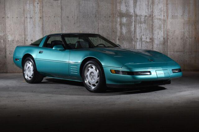 1991 Chevrolet Corvette 14001 Miles Turquoise Hatchback V8