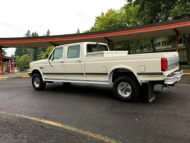 1991 Ford F 350 4x4 Crew Cab 4dr Long Bed Manual 5 Speed 7