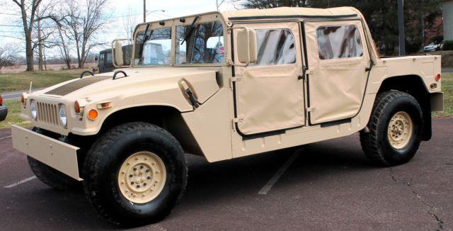 1991 hummer humvee h1 general military open restored w clear pa reg rh mfpclassiccars com 1995 AM General Hummer with 6 Digit VIN 1995 AM General Hummer with 6 Digit VIN