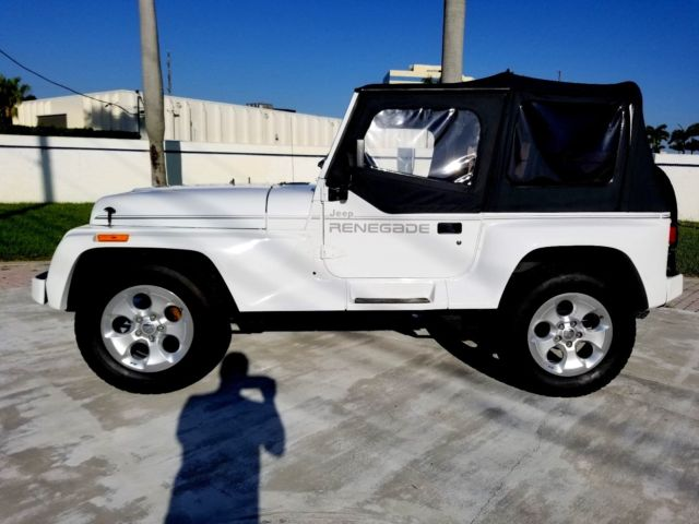 1991 jeep wrangler renegade 4x4 automatic 4 0 6 cyl classic 1991 jeep wrangler for sale. Black Bedroom Furniture Sets. Home Design Ideas