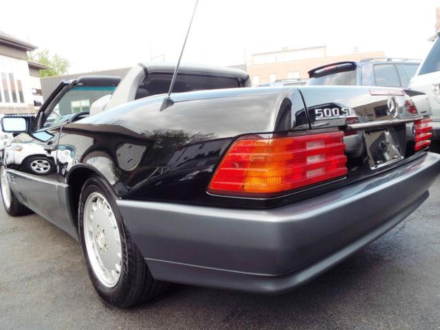 Carfax Dealer Login >> 1991 MERCEDES BENZ 500 SL CONVERTIBLE - Classic 1991